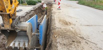Splašková kanalizácia Nádražná