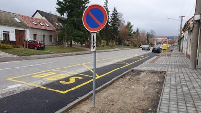 Rekonštrukcia chodníka na Štefánikovej ul. – II. etapa