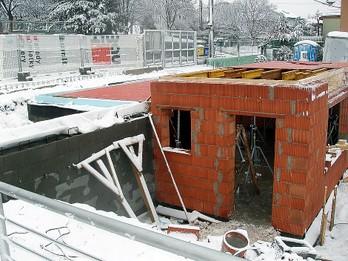 Výstavba Bufet