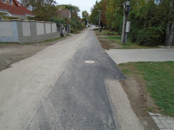 Doplnenie splaškovej kanalizácie 4. Etapa- stoka Gaštanova