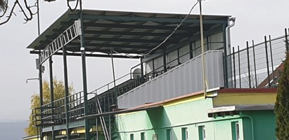 Rekonštrukcia tribúny - CFI Pezinok