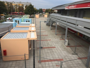 Rekonštrukcia verejného trhoviska Latorická ulica