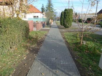 Rekonštrukcia chodníka