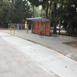 Rekonštrukcia autobusovej zástavky a spevnené plochy